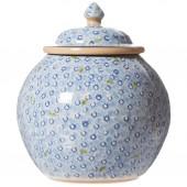 Light Blue Lawn Cookie Jar