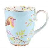 large blue mug eary bird
