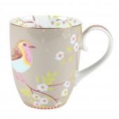 large khaki mug early bird