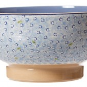 nicholas mosse salad bowl light blue lawn