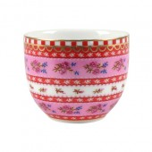 pink egg cup