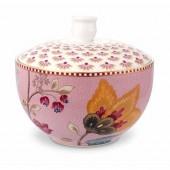 pip fantasy pink sugar bowl