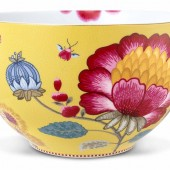 pip-studio-yellow-floral-fantasy-23cm-bow-51-003-073