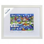 Wexford Town And Quay Framed Simone Walsh Print