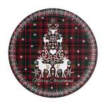 denby_merry_christmas_tartan_round_set_of_6_placemats_denby_merry_christmas_tartan_round_set_of_6_placemats