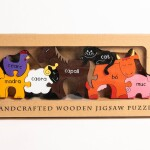 Alphabet Jigsaws Farm Animals (As Gaeilge)