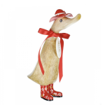 Dcuk Floral Duckling with Hat & Welly Boots