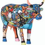 CowParade Moosy in the Sky with Diamonds